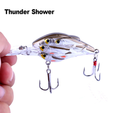 ThunderShower, 1 шт., искусственная приманка, 7,5 см, 9 г, плавающая приманка, рыболовные приманки, глубина 2 метра, рыболовные воблеры