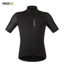 WOSAWE Leisure Cycling Jersey Comfortable Mtb Bicycle Clothing Bike Shirt Short Maillot Roupa Ropa De Ciclismo Hombre Verano