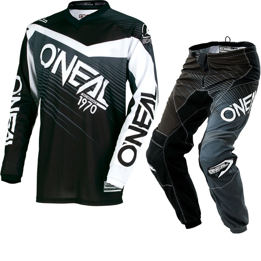 NEW 2018 ONEAL Motocross Racing Suits Mountain Downhill Dirt Autobike Jersey + Pants AM MTB DH Off-Road Sets Cycling Combo scoyco professional motorcycle dirt bike mtb dh mx riding trousers motocross off road racing hip pads pants breathable clothing