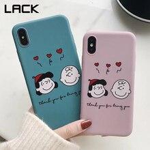 WOTP Couple Cute Cartoon Love Heart INS Soft TPU Phone Case