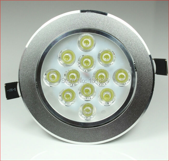 Led Spotlight Bulb, 12W AC220V, 12PCS LED Chips, Installation Hole is 115*65MM, 2 Colors for Choice, L15997