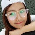 Новые Моды Ретро Мужчины Женщины Очки Кадры Прозрачные Рамки Высокое Качество Чтения Оптических Оправ Очки Frames_SH396