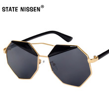 STATE NISSEN Oversized Sunglasses Women Fashion Sun Glasses For Female Brand Lux