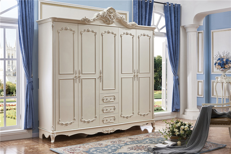 €798.49 |Chambre meubles armoire 3 portes 4 portes 5 portes porte  coulissante armoire-in Penderies from Meubles on AliExpress