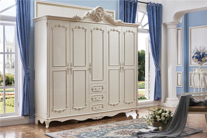 US $870.0 |bedroom furniture wardrobe 3 doors 4 doors 5 doors sliding door  wardrobe-in Wardrobes from Furniture on AliExpress