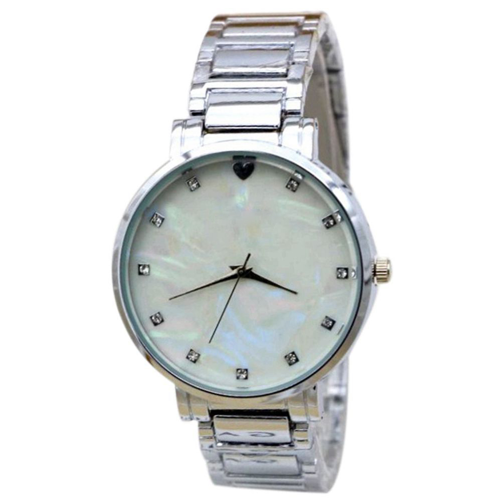 New Stainless Steel Women Wrist Watch Mother of Pearl Dial Gold Watch Luxury Quartz Watch Female 2016 new ladies fashion watches decorative grape no word design gold watch stainless steel women casual wrist watch fd0107