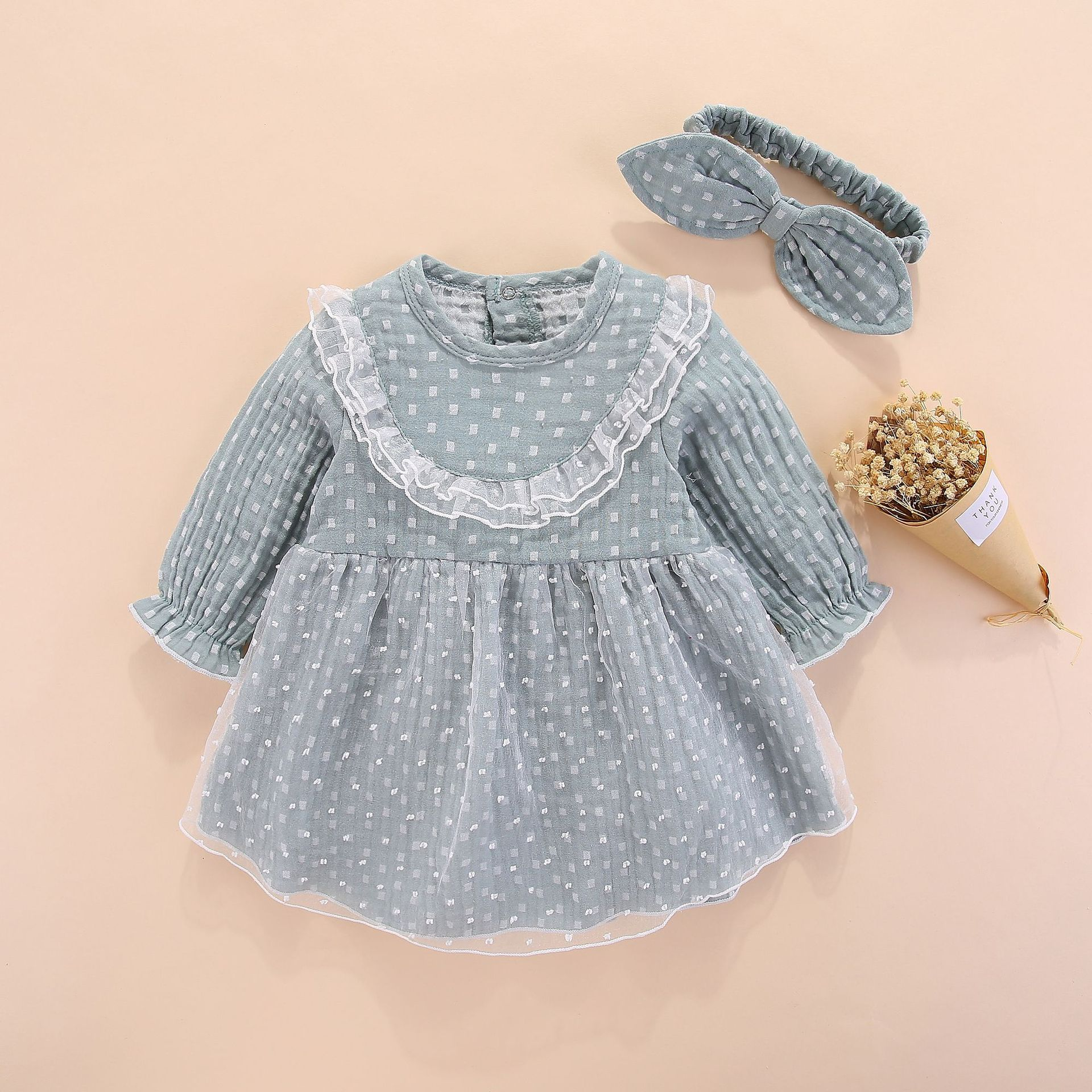 222f71c68 newborn baby girl dresses clothes summer with flower 0 3 6 month ...