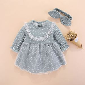 Image 3 - חדש נולד תינוקת בגדי שמלות ילדות קטנות בגדי סטים 0 3 חודשים יילוד ילדים סתיו חורף 2018 vetement enfant fille 6