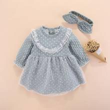 06f2b403a Nuevo bebé niña ropa vestidos poco Niñas Ropa conjuntos 0 3 meses niños  recién nacido Otoño