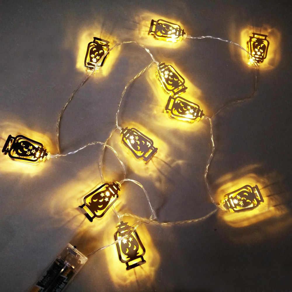2019 ปี Merry คริสต์มาสวันเกิดวันหยุดตกแต่งบ้าน Ala Shen LED ไฟ LED String LED สำหรับเพดานบ้านของขวัญ noel