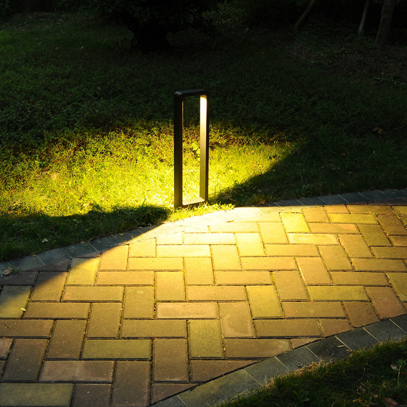 10W LED Bollard Lawn Light 30cm 60cm Outdoor Waterproof Aluminum Lawn Light Landscape Community Garden Courtyard Road Lawn Lamp