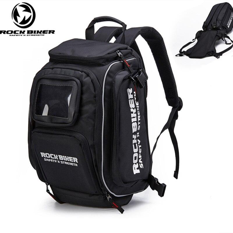 ROCKBIKER Multifunzionale moto zaino doppio sacchetto di spalle motocross viaggio bagagli bolsa borsa da serbatoio del motociclo zaino
