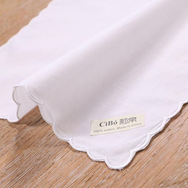 A011: blanco algodón pañuelo de encaje blanco de ganchillo pañuelos ...