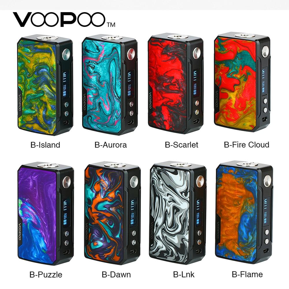 Original VOOPOO DRAG 2 Box Mod No 18650 Battery Vape Mod 177W Powerful Output El