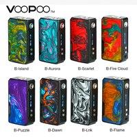 Original VOOPOO DRAG 2 Box Mod No 18650 Battery Vape Mod 177W Powerful Output Electronic Cigarette Drag Mod Vs Drag Shogun/ Univ