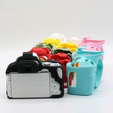 Nice Soft Silicone Rubber Camera Protective Body Cover Case Skin For Ca