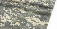 C*U camouflage clothing cloth gray rice white navy mosaic digital camouflage polyester / cotton fabric,150CM,B3006