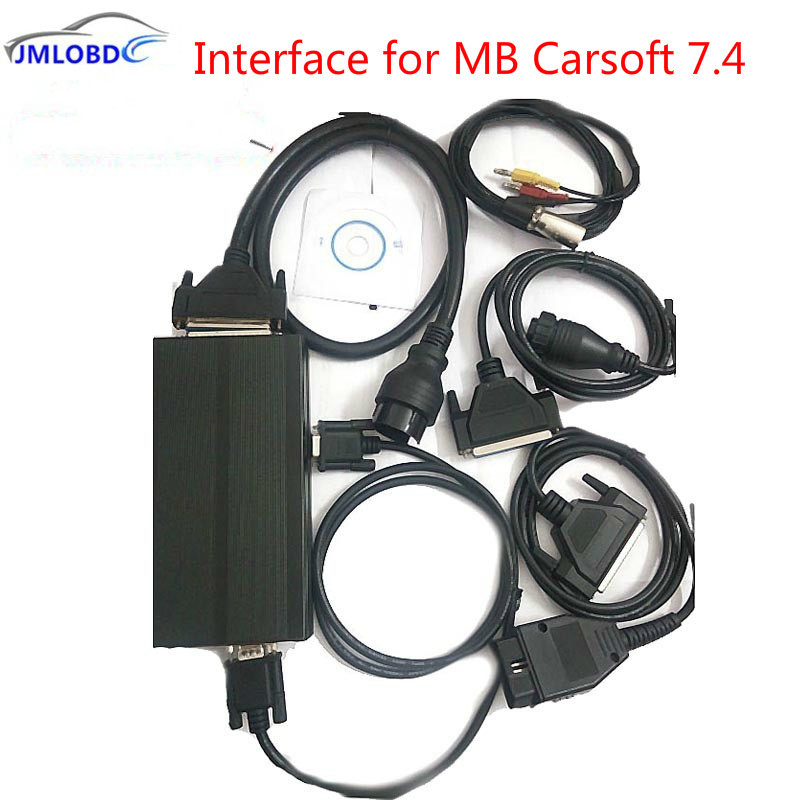 1Pcs High Quality MB Carsoft 7.4 Multiplexer MCU Controlled Interface for Carsoft 7.4 Auto Diagnostic Tool Free Shipping diagnostic tool mb carsoft 7 4 multiplexer ecu chip tunning mcu controlled interface for mercedes benz carsoft v7 4 multiplexer