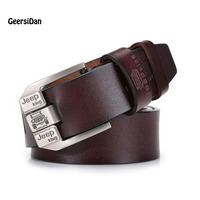 2017 Designer Belts Men High Quality Genuine Leather Belts For Men Fashion Brand Strap Male Pin
