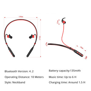 Image 4 - Bluetooth Earphones Wireless Headset For Phone Computer With Microphone Sport Handsfree For iPhone Xiaomi Sony Gaming Headset