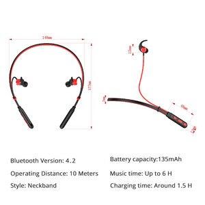 Image 4 - Bluetooth наушники, беспроводная гарнитура для телефона, компьютера с микрофоном, Спортивная гарнитура громкой связи для iPhone, Xiaomi, Sony, игровая гарнитура