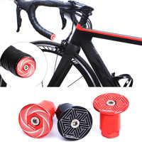 Risco de estrada guiador da bicicleta termina aperto da bicicleta termina tampas de corrida de estrada bicicleta ciclismo lidar com barra plug termina barra de alumínio plugues