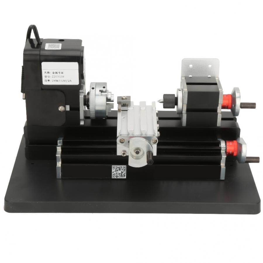 24W Mini Metall Drehmaschine 20000RPM Motor für Weiche Metall Kunststoff Acryl UNS Stecker 100-240V Mini drehmaschine Maschine tour eine metaux
