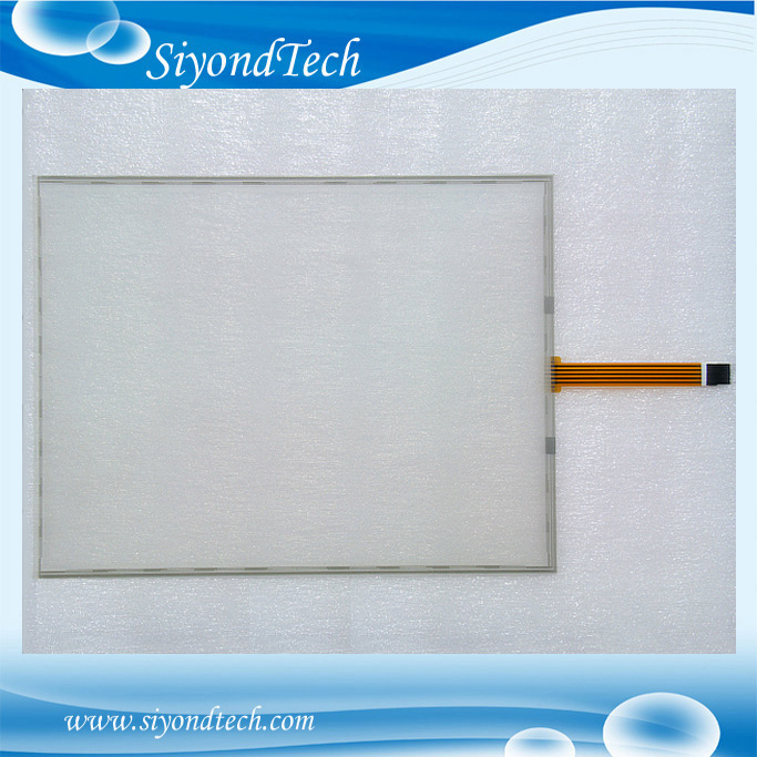 Free Shipping!!!New 17 355MM*288MM 5 Wire 4:3 Resistive Touch Screen Panel Digitizer Film to Glass цена
