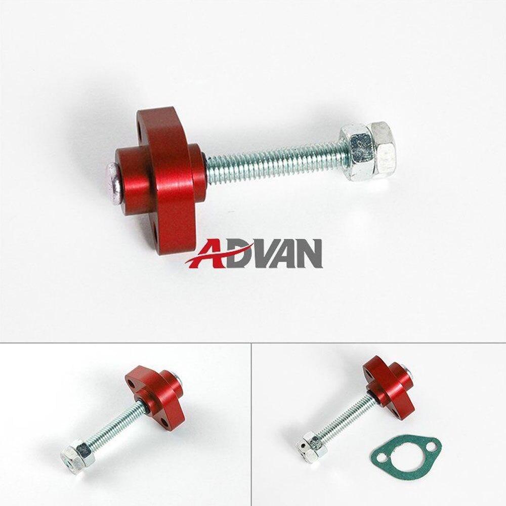 For Kawasaki KFX 400 03-Up ADVAN Red Super Street Racing Manual Cam Timing Chain Tensioner