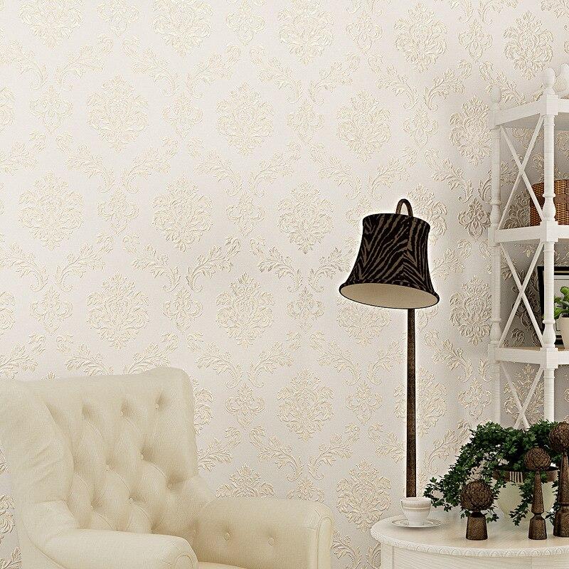 Beibehang embosse Европейский современные цветочные обои для стен 3 D ТВ фон 3D стены Бумага для Гостиная Desktop Papel росписи