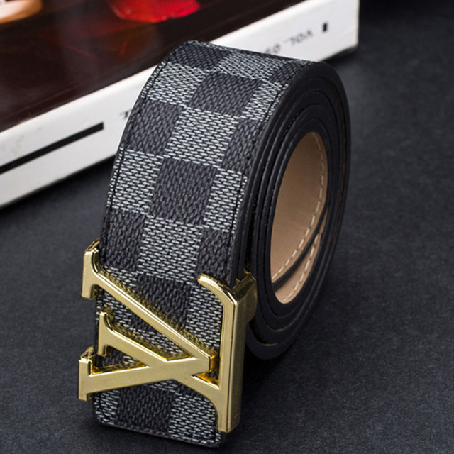 ad1b1e87b9a Ceinture Homme De Luxe 2015 New Smooth Buckle Belt Leather Casual Straps  Designer Ceinture Homme Luxury Ceinture Luxe Homme