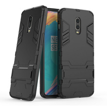 Armor Shockproof Case for Oneplus 7 6T 3D Shield PC+Silicone Phone Cover Fundas Capa Coque