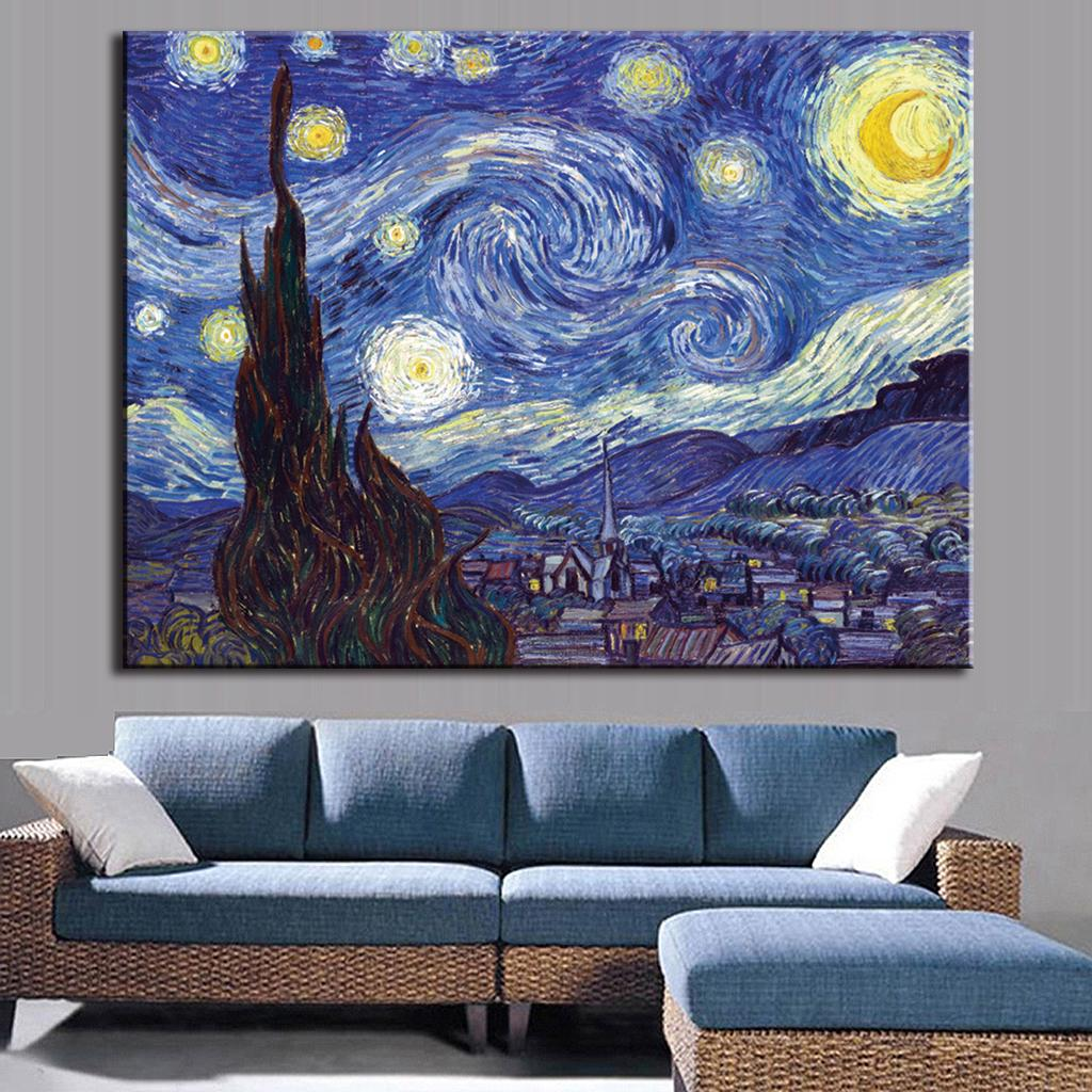 Vang Gogh Cuadros Us 5 99 The Famous Abstract Oil Painting Van Gogh Cuadros Decor Wall Art On Canvas Pictures For Living Room In Painting Calligraphy From Home