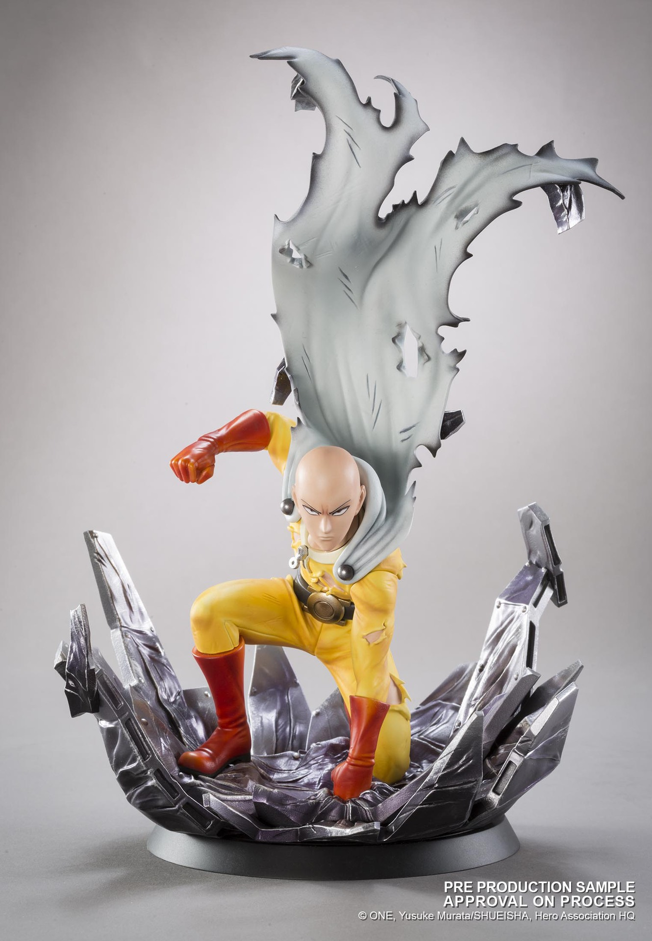 Hot-selling 1pcs 24CM pvc Japanese anime figure Tsume T ONE PUNCH-MAN Saitama action figure collectible model toys brinquedos