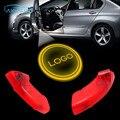 2x proyector luz de insignia del coche luz de la sombra para Chevrolet Captiva 2011 2012 2013 2014 Plug and Play