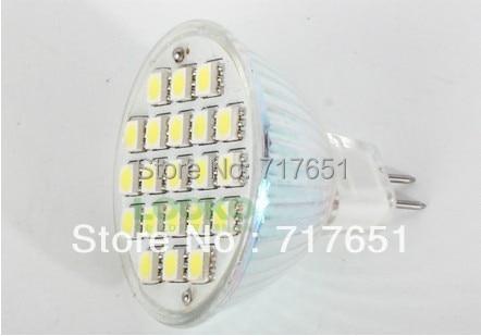 10pcs 5W MR16 LED 5050 29 SMD Pure/ Warm White LED High Power Spot Light