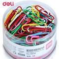 Канцелярские принадлежности Deli для студентов  разноцветные металлические зажимы 160 шт. в комплекте  офисные зажимы для студентов