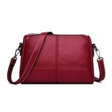 Luxury กระเป๋าถือผู้หญิงกระเป๋าออกแบบ 2019 สุภาพสตรีกระเป๋าหนังผู้หญิงไหล่กระเป๋าสตรี Vintage Messenger กระเป๋า Sac A หลัก