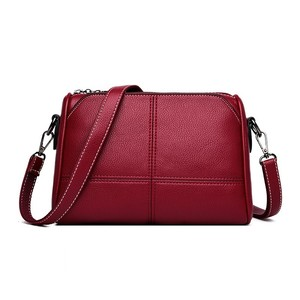 Image 1 - Luxury Handbags Women Bags Designer 2019 Ladies Bag Party Female Leather Shoulder Bag Vintage Women Messenger Bags Sac A Main