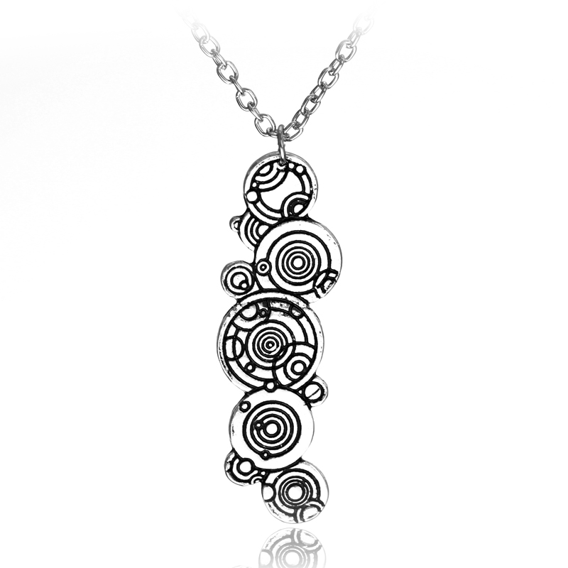 Doctor Who Gallifreyan Necklace Female Accessories Women Choker Necklace with Chain