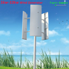 лучшая цена 1k-10kw 24v vertical wind turbine 250 RPM wind generator 24v 48v 96v  3 phase 50HZ 3 blades no noise home  wind turbine Text