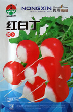 Семена овощных культур красный и белый органический овощной семя Дин Luobu фрукты нежное и сочное редька семян 10 г/пакет