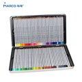 Marco 7100 prismacolor lápis de cor de madeira 72 caixa de óleo ferro profissional desenho lápis esboço arte para material escolar