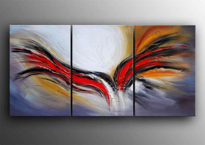 Online buy wholesale abstract canvas painting ideas from for Modern oil painting ideas