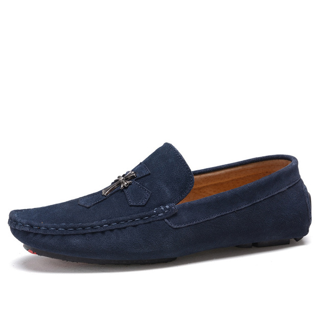 2133f6b0c7d 2016 Men s Fashion Shoes Men Loafers Boat Shoes Male Flats Casual Shoe Trend  Slip On Genuine Leather Moccasin Men Loafer Shoes