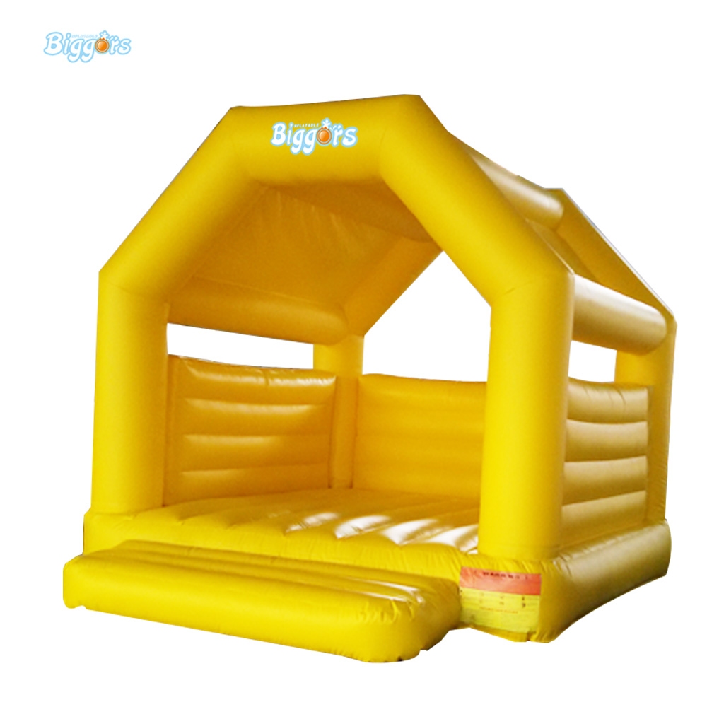 PVC Inflatable Trampoline Mini Commercial Bouncy House Inflatable Bouncer double slides commercial inflatable bouncer bounce house