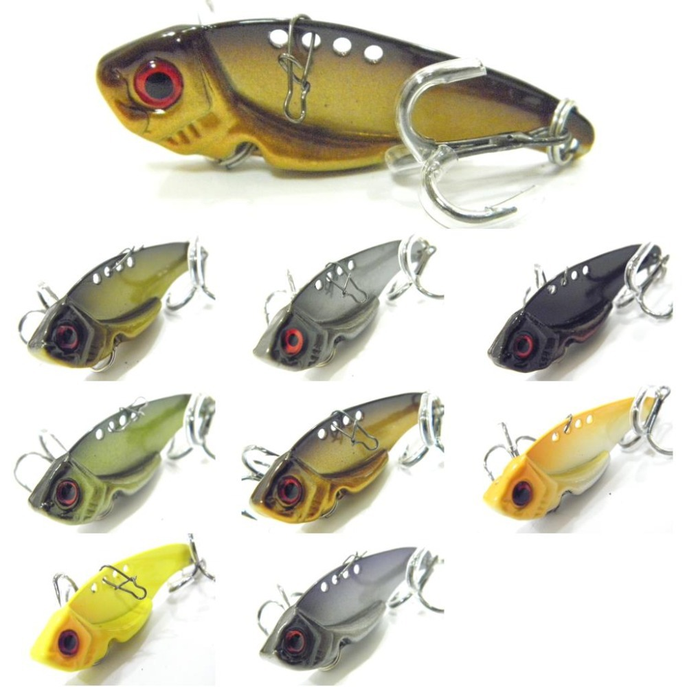 wLure Fishing Lure Blade Lure Metal VIB Hard Bait  Shallow Water Bass Walleye Crappie Minnow  BL3L wldslure 1pc 54g minnow sea fishing crankbait bass hard bait tuna lures wobbler trolling lure treble hook