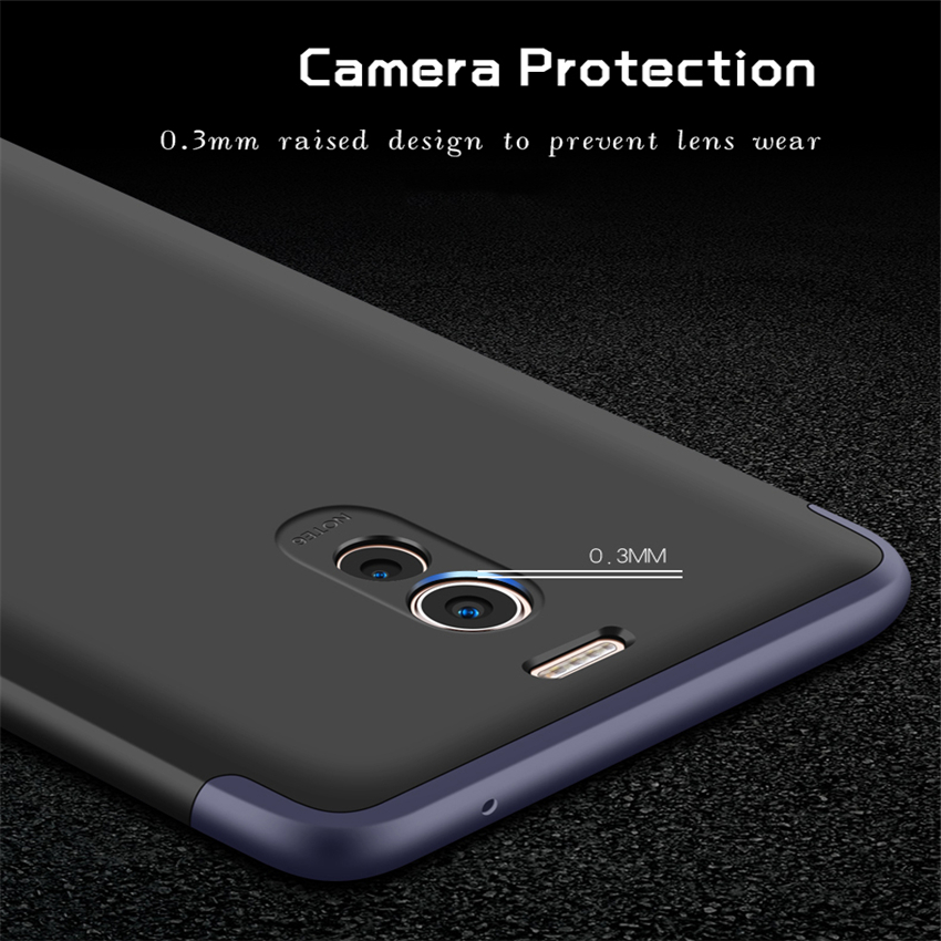 For Meizu Note M6 M 6 Note Case 360 Full Degree Case M5 Note Luxury 3 in 1 Cover Fundas Hard PC For Meizu M3 Note Phone Cases E2 in Fitted Cases from Cellphones Telecommunications