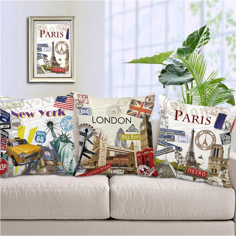 Home Decor Stores New York: Aliexpress.com : Buy Retro London Paris New York City