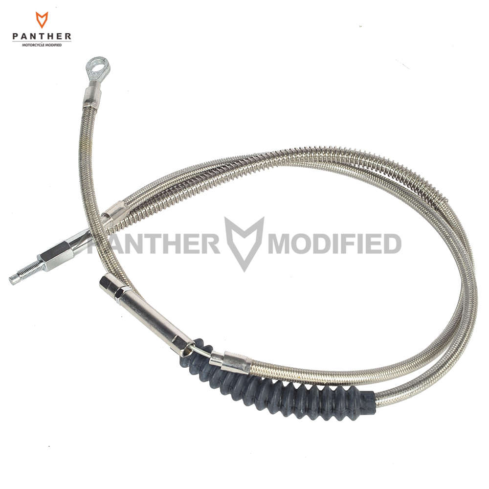 """4/"""" Clutch Cable 2008-2013 Harley-Davidson Touring models Stainless Braided"""